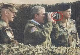 Bush Doing His Best - breaking views