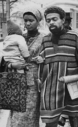 Amiri Baraka and Family