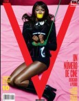 Naomi Campbell Tied Up for V Magazine