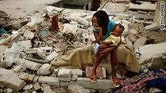 Haiti Man-Made Quake Story Stark