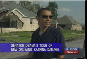 Katrina and Obama