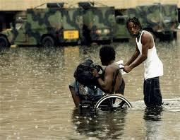 Katrina - Not Looting But Helping